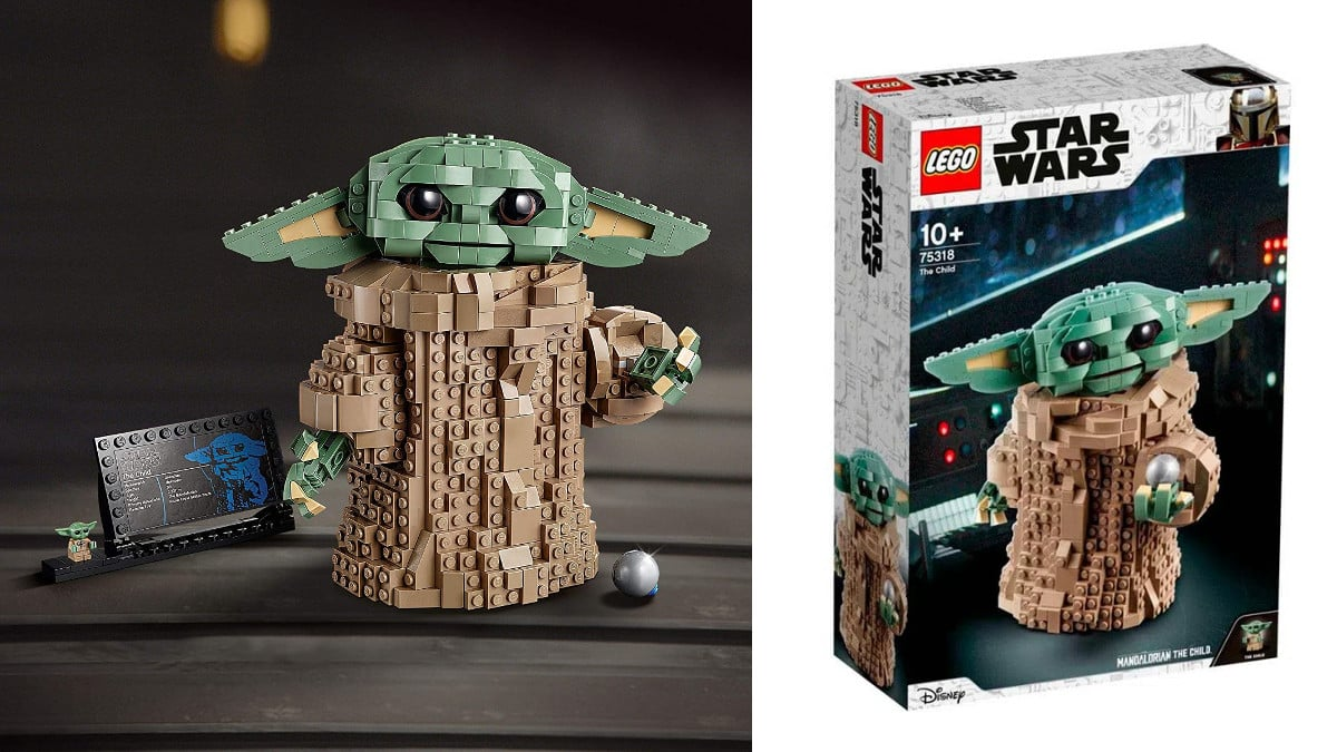 LEGO The Mandalorian Baby Yoda barato, LEGO baratos, juguetes baratos, chollo