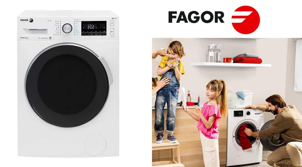 Lavadora Fagor 3FE-8612 barata. Ofertas en electrodomésticos, electrodomésticos baratos, chollo