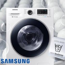 Lavasecadora Samsung Serie 6 EcoBubble barata, lavasecadoras baratas