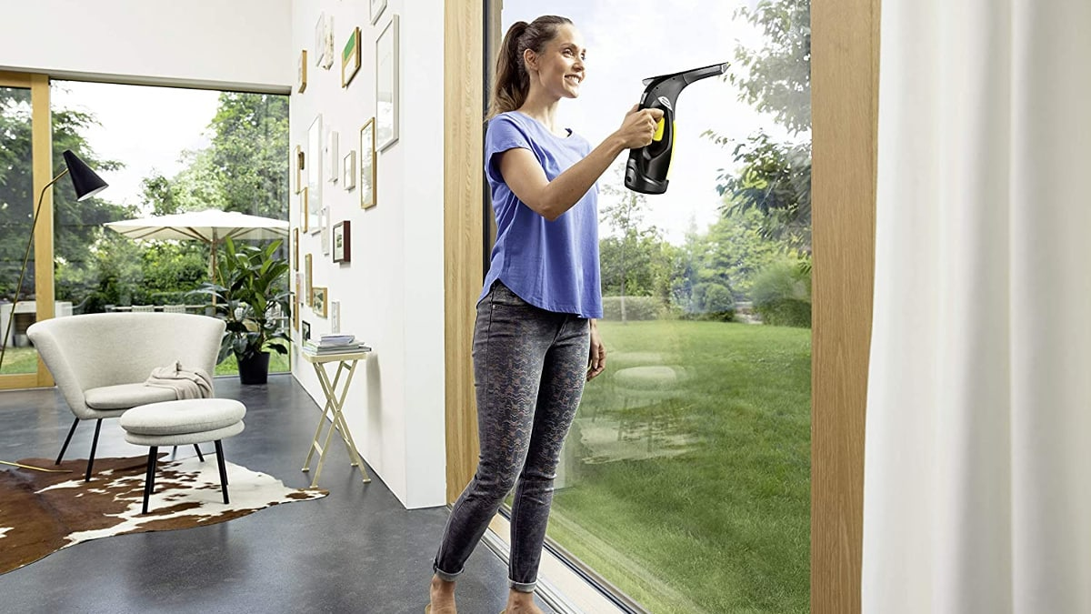 Limpiacristales Kärcher Window Vac WV 2 barato, limpiacristales de marca baratos, ofertas hogar, chollo