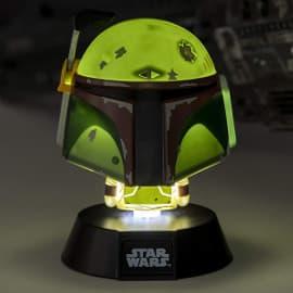 Lámpara 3D Star Wars Boba Fett barata, lámparas baratas