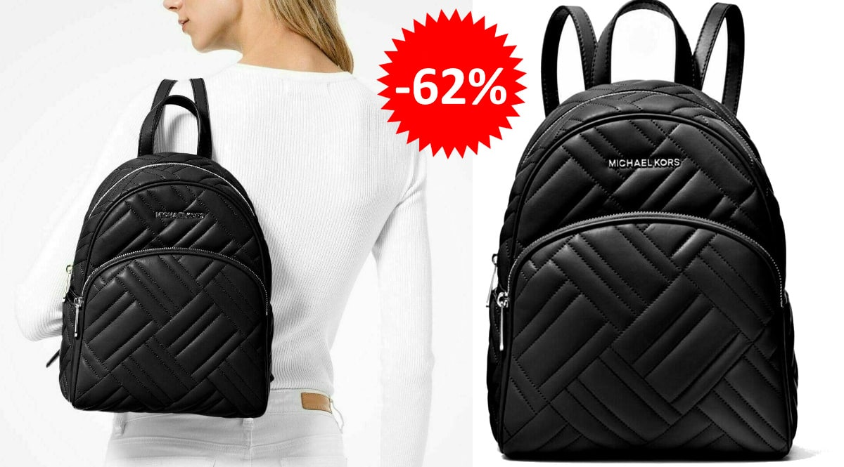 Mochila Michael Kors Abbey Quilt barata, complementos baratos, ofertas en mochilas chollo