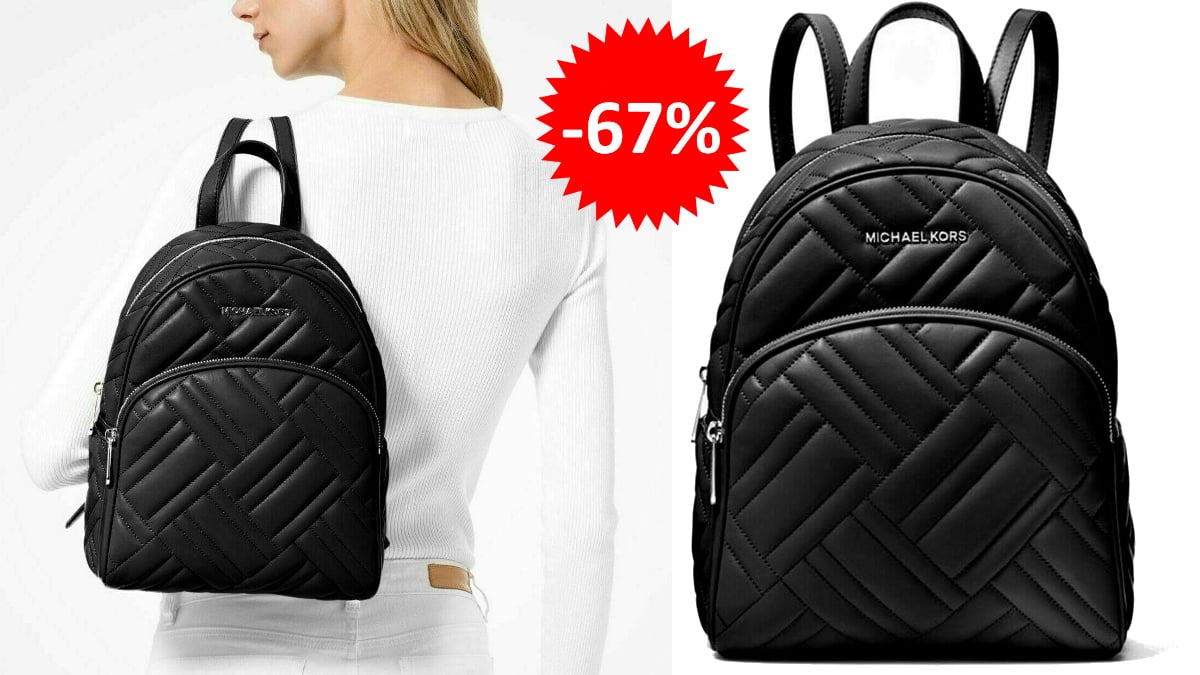 Mochila Michael Kors Abbey Quilt barata, mochilas de marca baratas, ofertas en complementos chollo