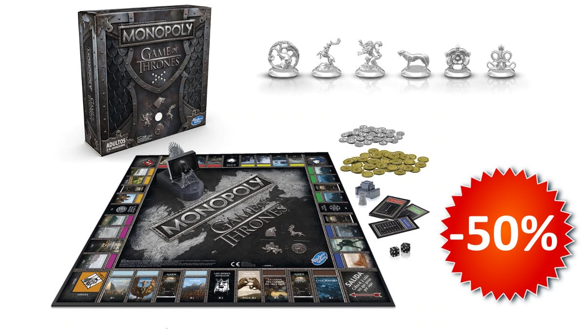 Monopoly Juego de Tronos barato, juegos de mesa baratos, chollo
