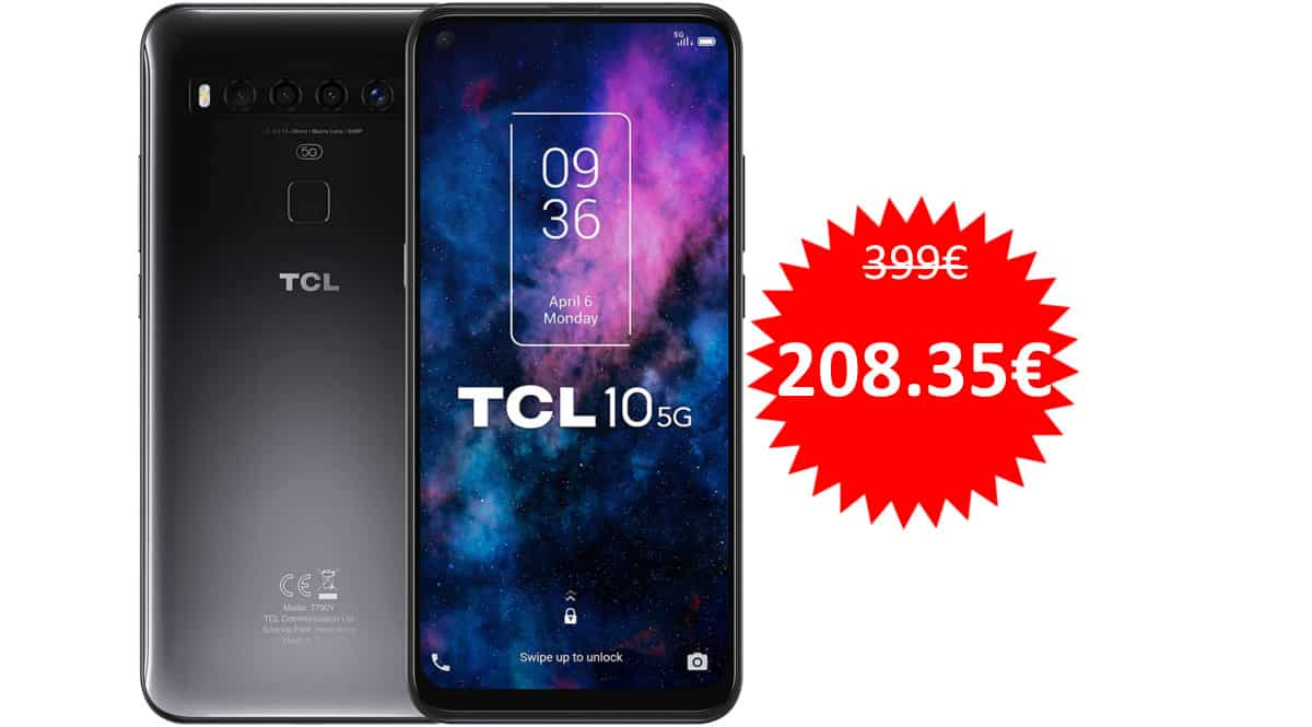 Móvil TCL 10 5G barato. Ofertas en móviles, móviles baratos, chollo