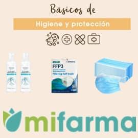 Ofertas artículos anti-covid Mifarma, mascarillas y geles hidroalcohólicos baratos, ofertas farmacia