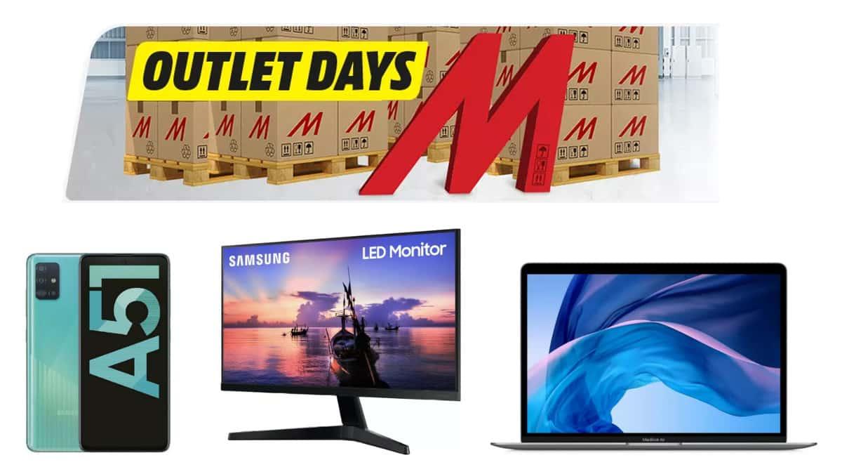 Ofertas de los Outlet Days de MediaMarkt, chollo