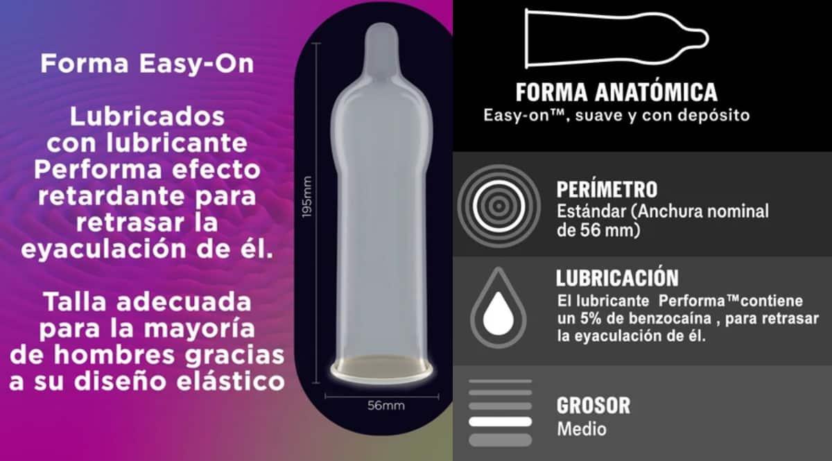Pack de 12 preservativos Durex Placer Prolongado barato. Ofertas en preservativos, preservativos baratos, chollo
