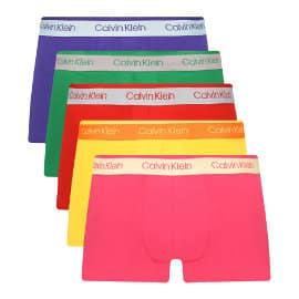 Pack de 5 boxers Calvin Klein baratos, ropa de marca barata, ofertas en ropa interior