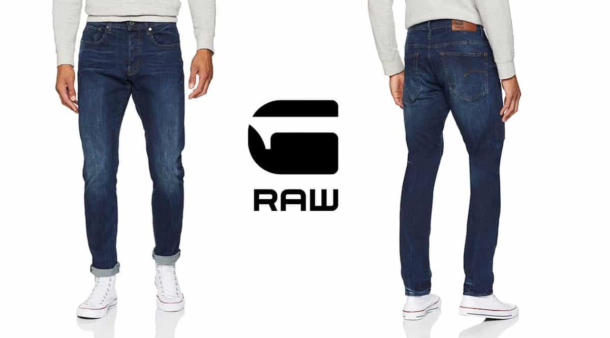 Pantalón G-STAR RAW 3301 Straight baratos. Ofertas en ropa de marca, ropa de marca barata, chollo