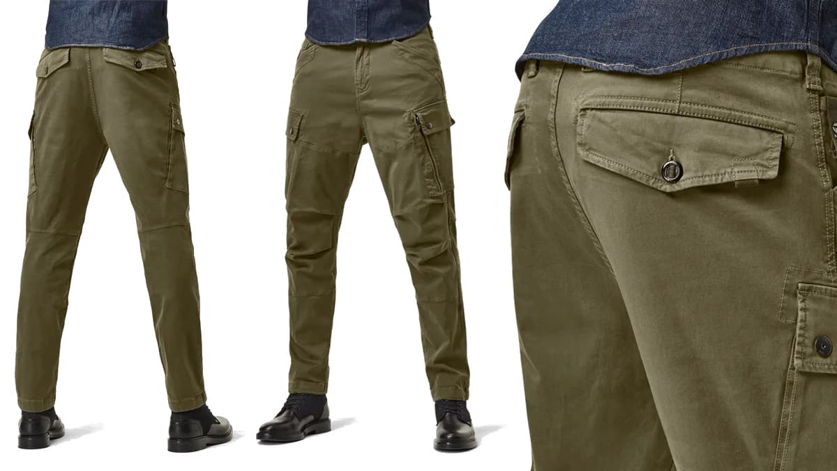 Pantalones G-Star Raw Roxic Straight baratos, ropa de marca barata, ofertas en pantalones chollo