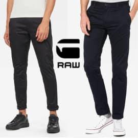 Pantalones chinos G-STAR RAW Bronson Slim baratos, pantalones de marca baratos, ofertas en ropa de marca