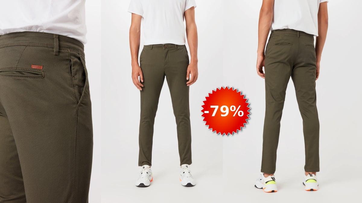 Pantalones chinos Jack & Jones Marco baratos, ropa de marca barata, ofertas en pantalones chollo