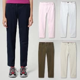 Pantalones chinos Napapijri Meridian baratos, ropa de marca barata, ofertas en pantalones