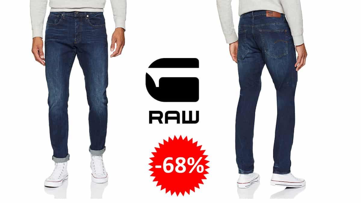 Pantalones vaqueros G-Star RAW 3301 Straight Tapered baratos, pantalones vaqueros de marca baratos, ofertas en ropa, chollo