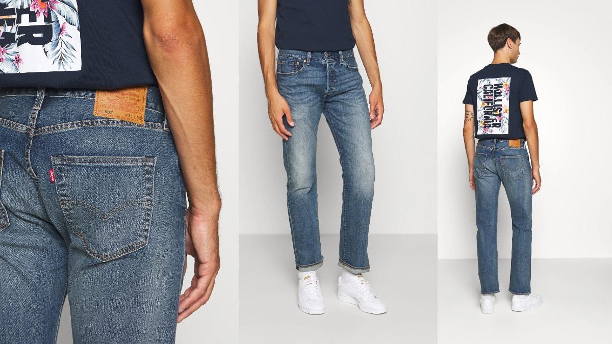 Pantalones vaqueros Levi's 501 Original baratos, ropa de marca barata, ofertas en pantalones chollo