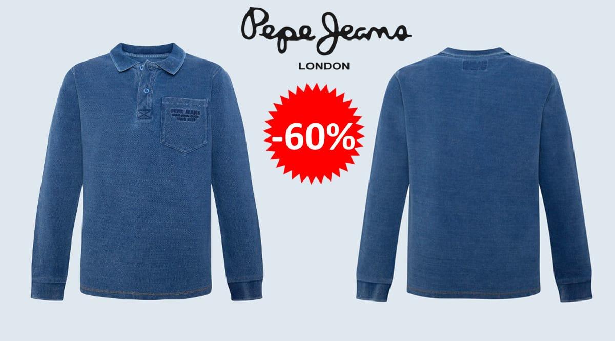 Polo Pepe Jeans Indie barato, polos de marca baratos, ofertas en ropa para niño, chollo