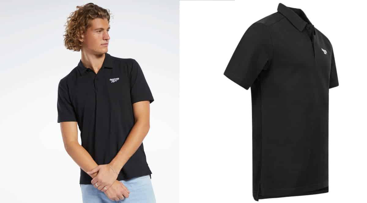 Polo Reebok CL barato. Ofertas en ropa de marca, ropa de marca barata, chollo