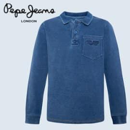 Polo para niño Pepe Jeans indi barato, polos de marca baratos, ofertas en ropa para niño