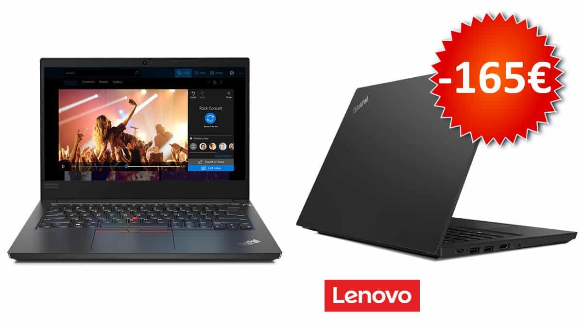 Portátil Lenovo ThinkPad E14 barato, portátiles baratos, chollo