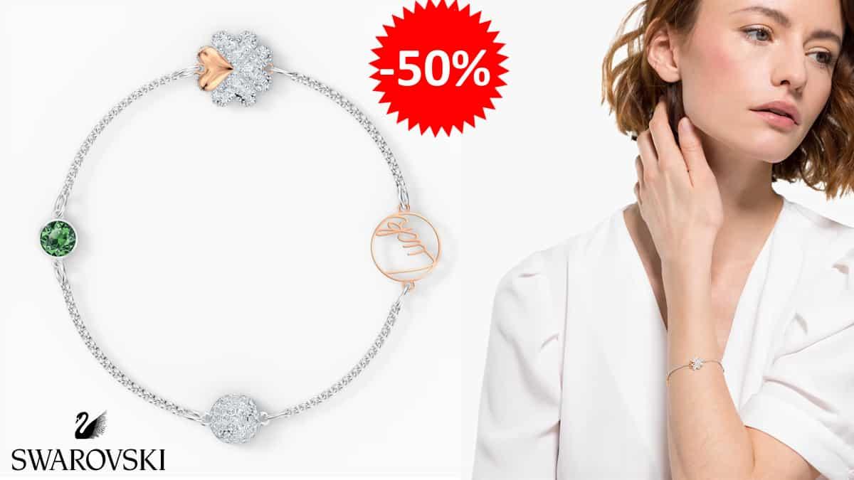 Pulsera Swarovski Remix Collection barata, pulseras de marca baratas, ofertas en joyas, chollo1