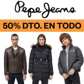 Rebajas en Pepe Jeans, ropa de marca barata, ofertas en calzado