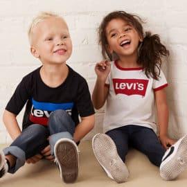 Rebajas en ropa Levi's para niño y niña, ropa de marca barata, ofertas en ropa para niño