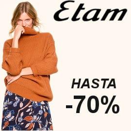 Rebajas en ropa para mujer Etam, ropa de marca barata, ofertas en ropa