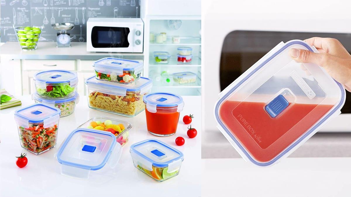 Recipiente hermético de vídrio Luminarc Pure Box Active barato, tupers baratos, ofertas cocina, chollo