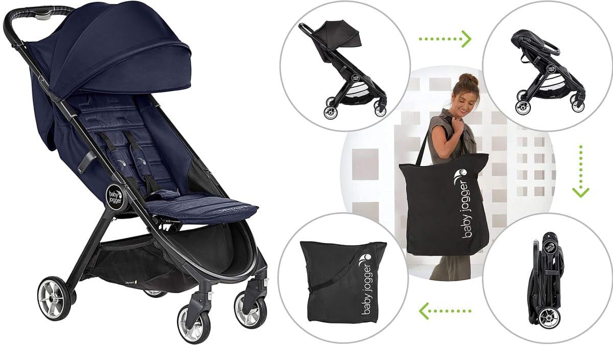 Silla de paseo Baby Jogger City Tour 2 Seacrest, sillas para bebé de marca baratas, ofertas para niños, chollo