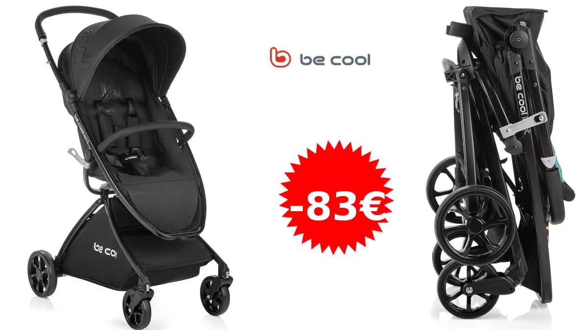 Silla de paseo Be Cool Ligth barata, sillas de paseo de marca baratas, ofertas para bebés, chollo