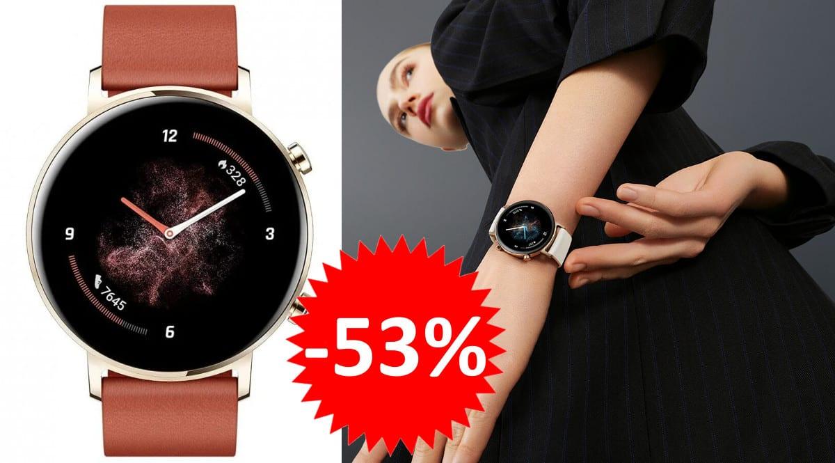Smartwatch Huawei Watch GT 2 42mm barato. Ofertas en smartwatches, smartwatches baratos,chollo