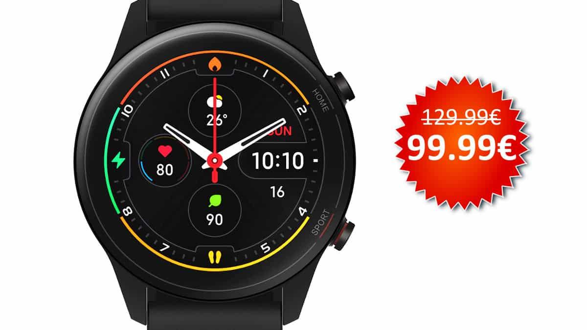 Smartwatch Xiaomi Mi Watch barato, smartwatches baratos, chollo