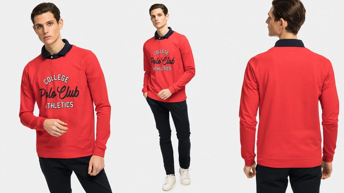 Sudadera Polo Club Gordon barata, sudaderas de marca baratas, ofertas en ropa de marca, chollo