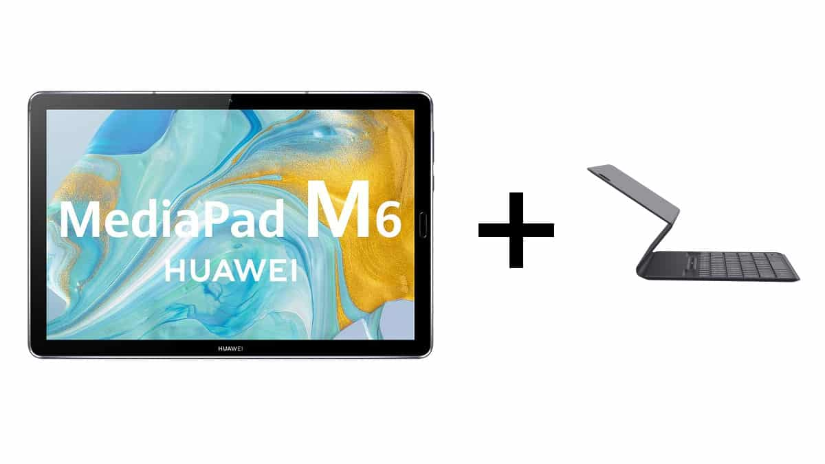 Tablet Huawei MediaPad M6 + teclado de regalo, tablets baratas, chollo