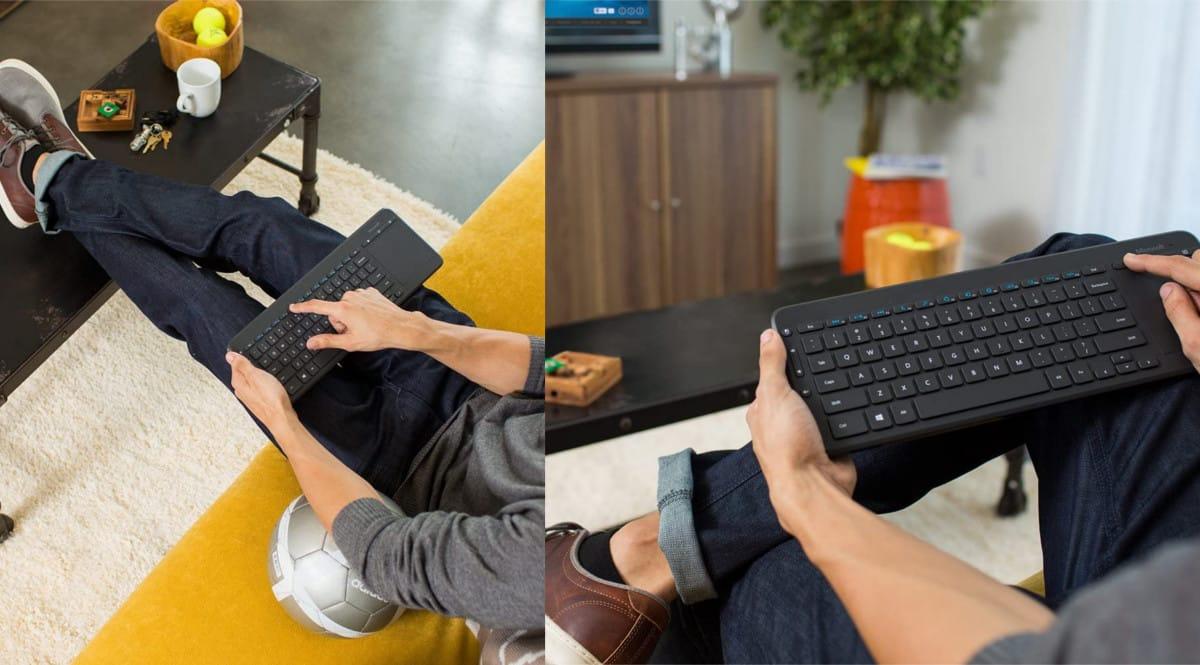 Teclado inalámbrico Microsoft All-in-One barato. Ofertas en teclados, teclados baratos,chollo