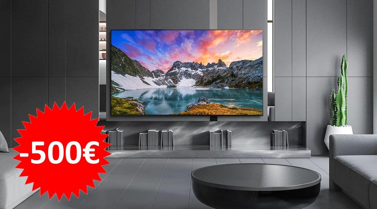 Televisor 8K LG 65NANO956NA barato. Ofertas en televisores, televisores baratos,chollo