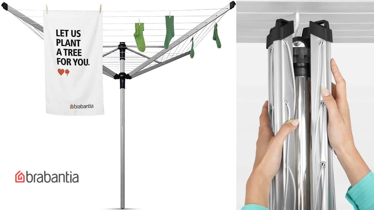 Tendedero Brabantia Lift-O-Matic barato, tendederos de marca baratos, ofertas hogar, chollo
