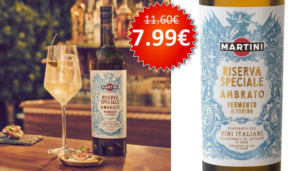 Vermut Martini Speciale Riserva Ambrato barato, vermuts baratos, chollo