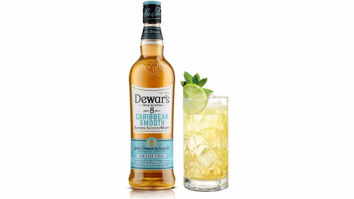 Whisky escocés Dewars Caribbean Smooth 8 años barato, whiskys baratos, chollo