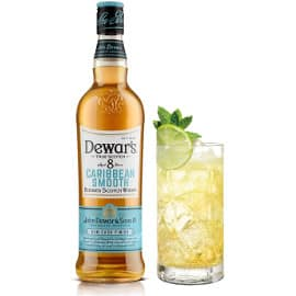 Whisky escocés Dewars Caribbean Smooth 8 años barato, whiskys baratos
