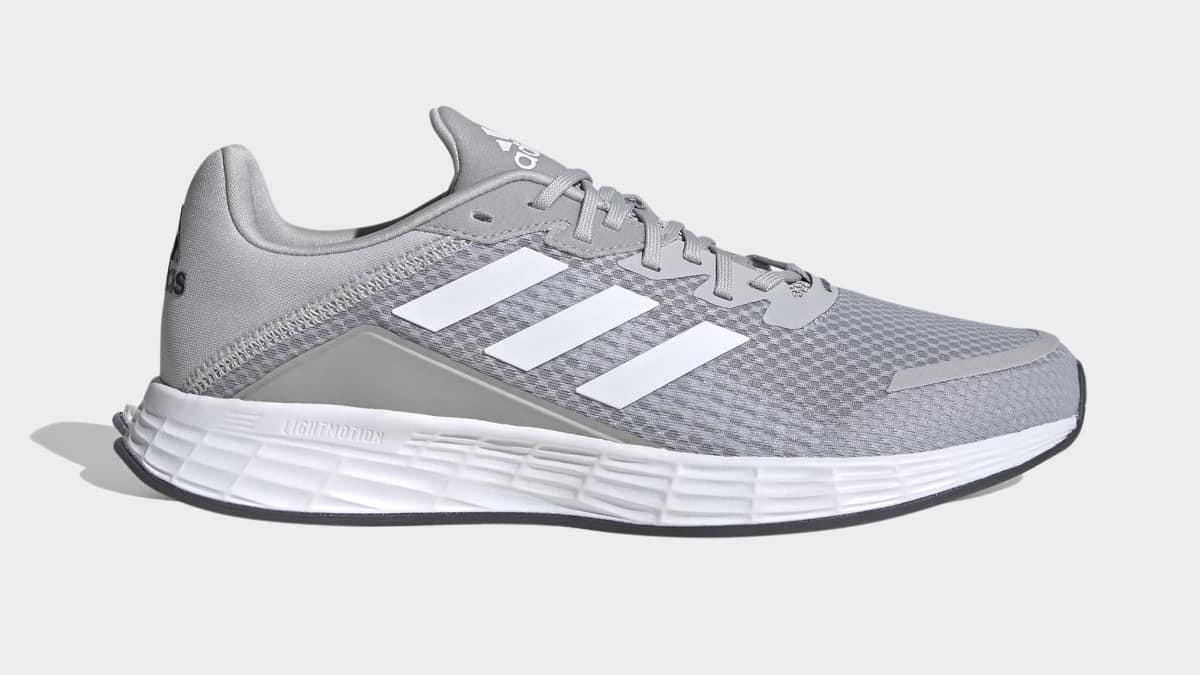 Zapatillas Adidas Duramo SL grises baratas, calzado barato, ofertas en zapatillas chollo