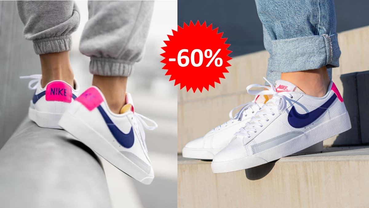 Zapatillas Nike Blazer Low baratas, calzado de marca barato, ofertas en zapatillas chollo