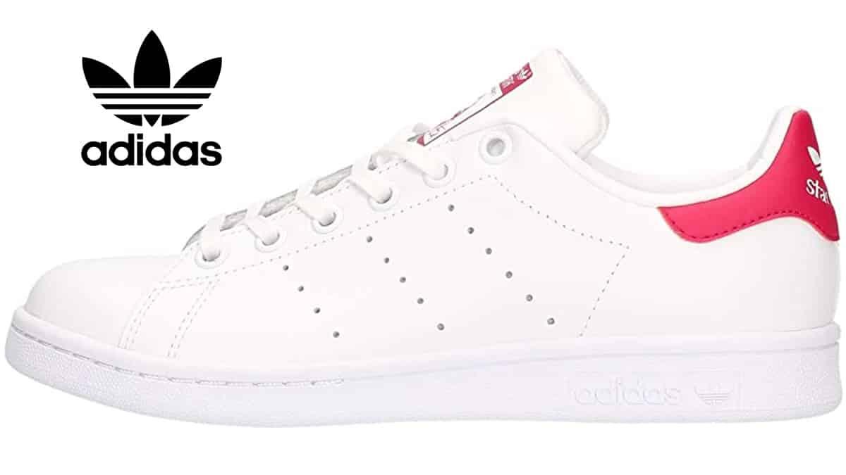 Zapatillas Stan Smith Junior baratas, calzado de marca barato, ofertas para niños chollo