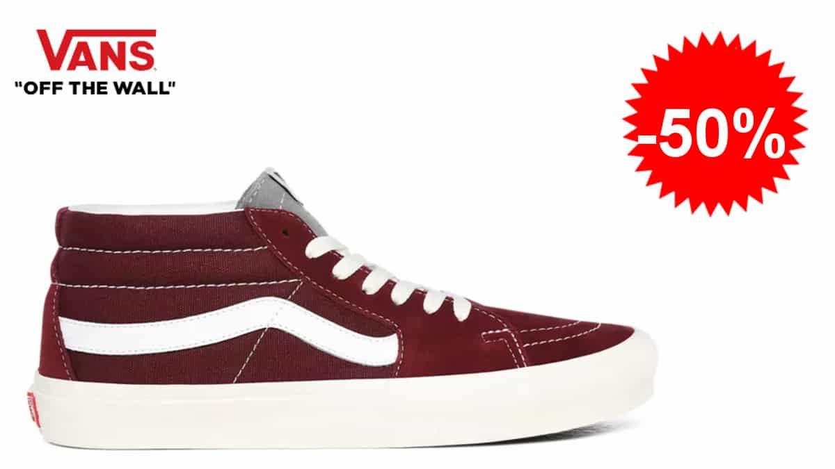 Zapatillas Vans Retro Sport SK8-MID aratas, zapatillas de marca baratas, ofertas en calzado, chollo