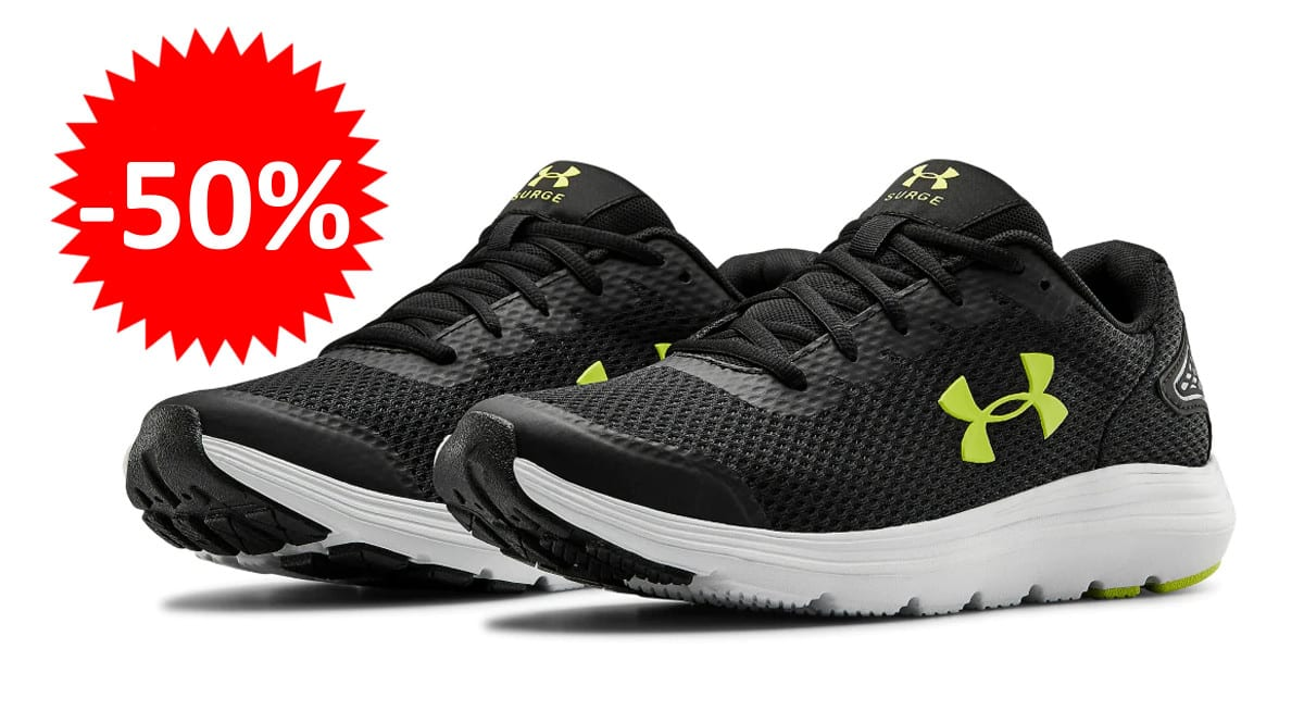 Zapatillas de running Under Armour Surge 2 baratas. Ofertas en zapatillas de running, zapatillas de running baratas, chollo