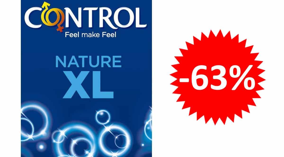 24 condones Control Nature XL baratos. Ofertas en supermercado, chollo