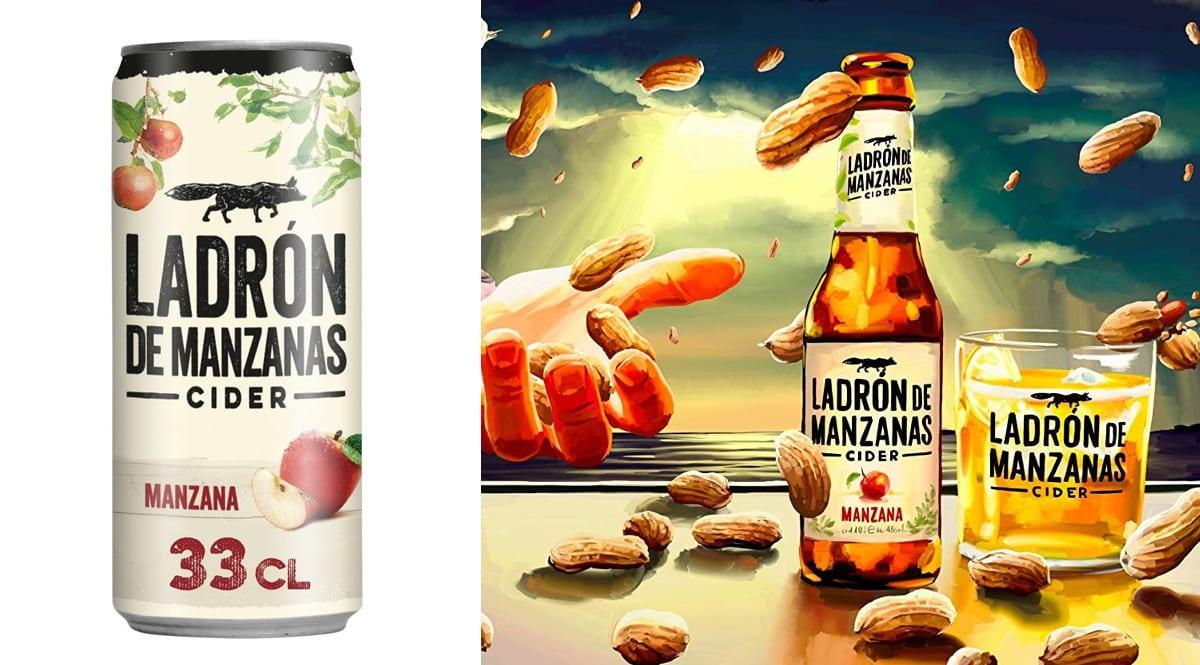 24 latas de sidra Ladrón de Manzanas Cider Manzana.