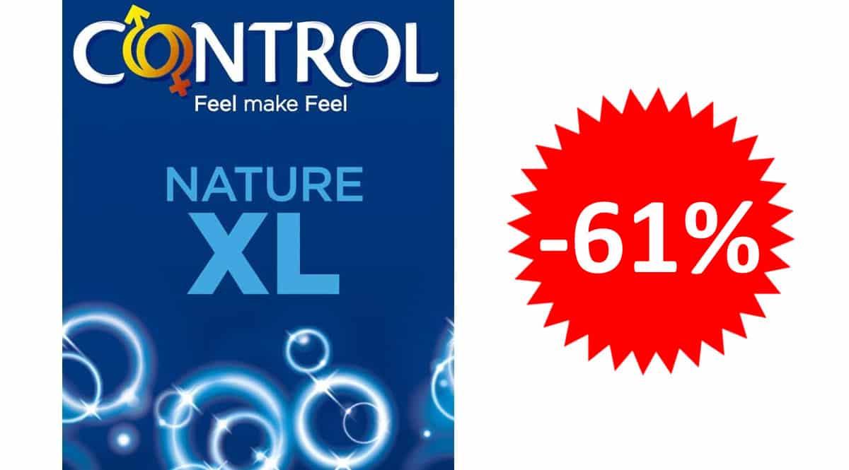 24 preservativos Control Nature XL baratos. Ofertas en supermercados, chollo