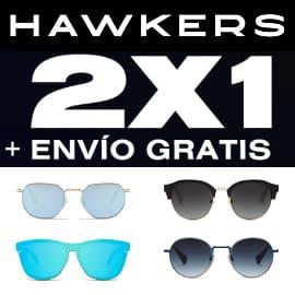 2x1 en gafas de sol Hawkers, gafas de sol baratas, ofertas en gafas de sol